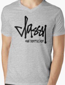 Classy Motherfucker Mens V-Neck T-Shirt