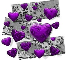 Gothic Lace & Hearts by PrivateVices