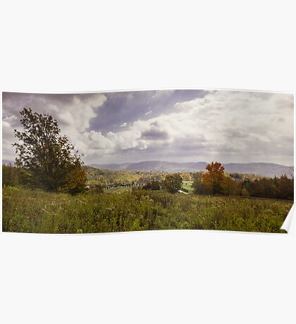 Automne au Mont Gale Poster