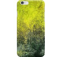 Abstract iPhone Case Grunge Yellow Cool Texture iPhone Case/Skin