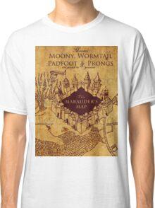 Marauders Map Harry Potter Classic T-Shirt