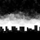Storm in the city by AhaC