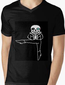 Undertale Sans Legs! Mens V-Neck T-Shirt