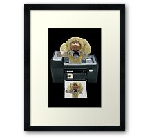 。◕‿◕。 CABBAGE PATCH DOLL PHOTOCOPIED。◕‿◕。  Framed Print