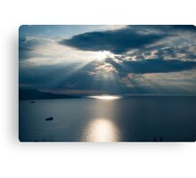 Amalfiana SeaScape Canvas Print