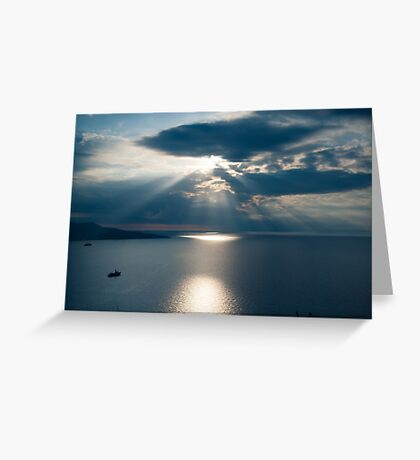 Amalfiana SeaScape Greeting Card