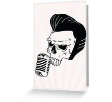 Skull n' Tones Greeting Card