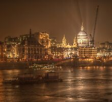 St Paul's Cathedral by Stephen Hall