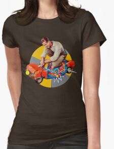 mr-fixit Womens Fitted T-Shirt