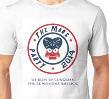 The Mars Party 2014 Unisex T-Shirt