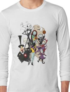 the nightmare before christmas Long Sleeve T-Shirt