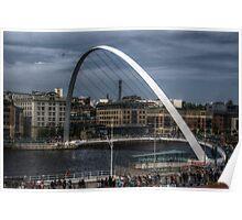 The Millenium Bridge Poster