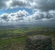 View from Pen-y-ghent by Stephen Hall
