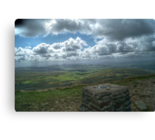 View from Pen-y-ghent Canvas Print