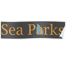 IT Crowd Sea Parks Poster
