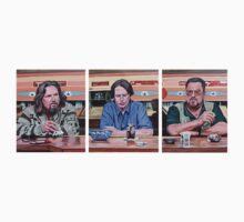 Lebowski Triptych by Tom Roderick