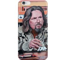 Jeffrey Lebowski iPhone Case/Skin