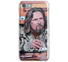Jeffrey Lebowski iPhone Case/Skin