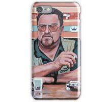 Walter Sobchak iPhone Case/Skin