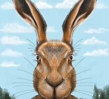 Hare by scribblerjo