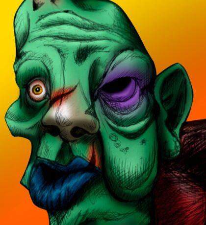 Zombie Quasimodo Sticker