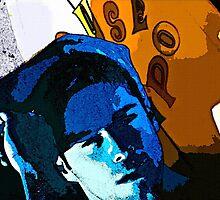 Blue Surfer Boy by BrianJoseph