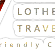 Ragnar Lothbrok Travel Sticker