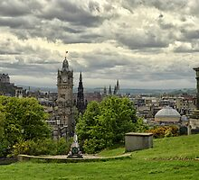 Edinburgh from Calton Hill by Kasia-D