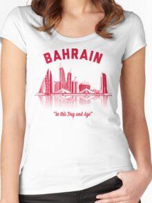 Bahrain Skyline Women's Fitted Scoop T-Shirt