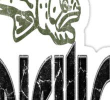 FISH MICHIGAN VINTAGE LOGO Sticker