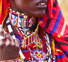Maasai to the Max Sticker