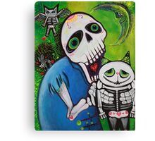 Sugar Cat Guardians Canvas Print