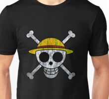 One Piece Straw Hat Pirates Logo Unisex T-Shirt