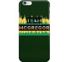 Team Conor Mcgregor iPhone Case/Skin