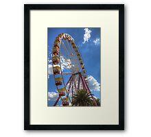The Big Wheel 2 Framed Print
