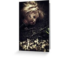 If the ground could talk ii Greeting Card