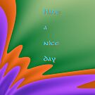 Have a nice day (greeting card test) by miashados