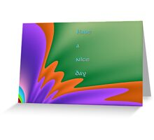 Have a nice day (greeting card test) Greeting Card