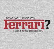 Have you seen my Ferrari? by JuanEstebanV