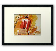 Rickshaw-2 Framed Print
