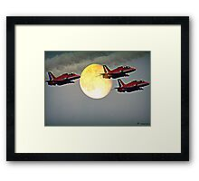 Three Arrows © Framed Print