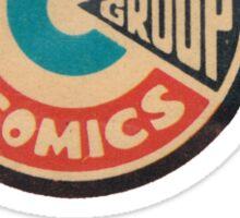Charlton Comics Logo Sticker