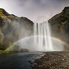 Waterfall and the Rainbow by Marzena Grabczynska Lorenc