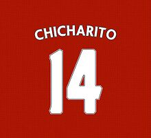 Manchester United - Chicharito (14) by Thomas Stock