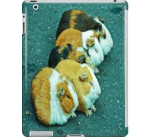 Animals on the road playing. iPad Case/Skin