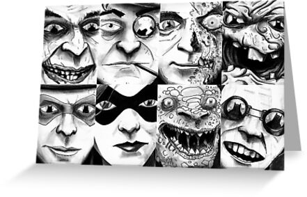 The DC Rogues Gallery 1 by Andy Hunt