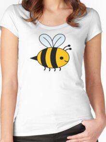 Big Bee Women's Fitted Scoop T-Shirt