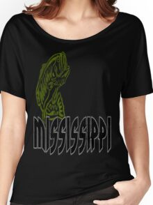 FISH MISSISSIPPI VINTAGE LOGO Women's Relaxed Fit T-Shirt