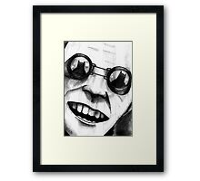 Rogues Gallery - Mr Freeze Framed Print