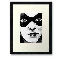 Rogues Gallery - Harley Quinn Framed Print